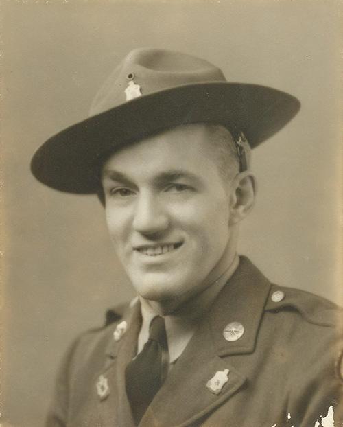 Matthew VanDyke's grandfather, US Army Sergeant Aaron Steltz, who was at D-Day