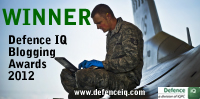 Defence IQ Blogging Award Winner