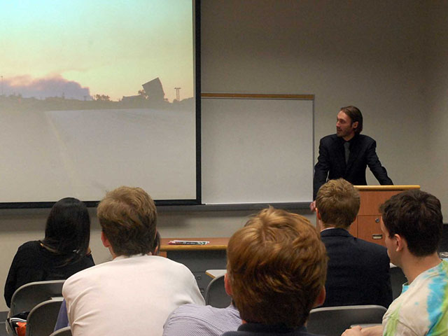 Freedom Fighter Matthew VanDyke Speaking at Georgetown University