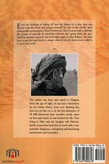 Back cover of the book Rien Impossible En Mauritanie by Mohamed Haidara