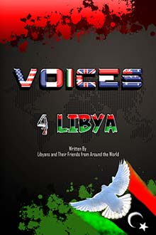 Front cover of the book Voices 4 Libya